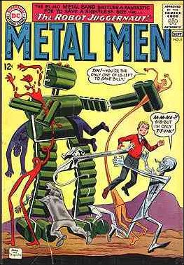 Metal Men (1963) 9-A by DC