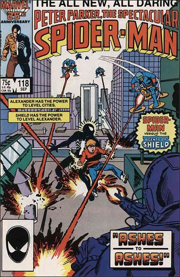 Spectacular Spider-Man (1976) 118-A by Marvel