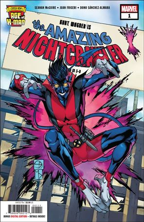 Age of X-Man: The Amazing Nightcrawler 1-A