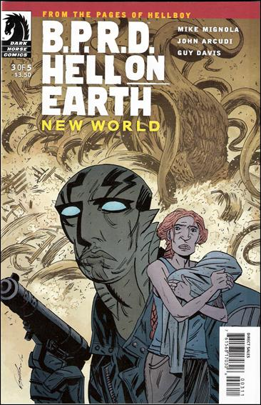 B.P.R.D. Hell on Earth: New World 3-A by Dark Horse