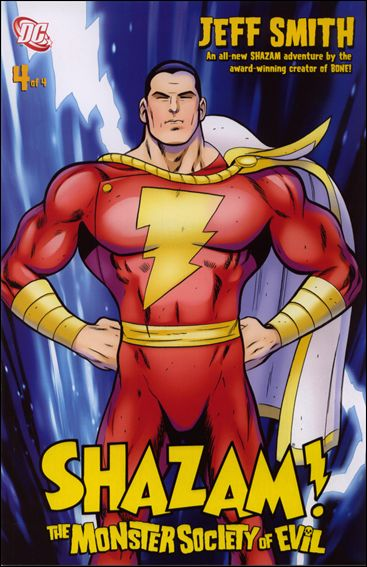Shazam! The Monster Society of Evil 4-A by DC