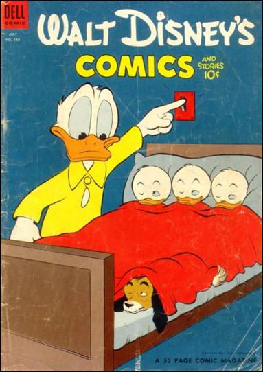 Walt Disney's Comics and Stories (1940) 166-A by Dell