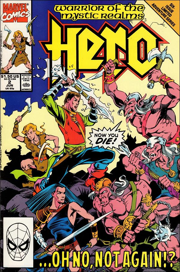 Hero (1990) 2-A by Marvel
