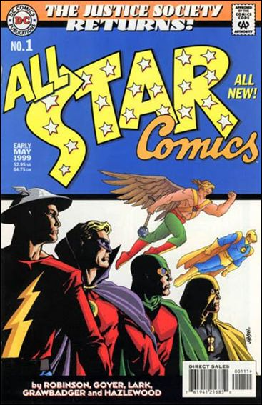 All Star Comics (1999) 1-A by DC