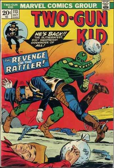Two-Gun Kid 113-A by Marvel