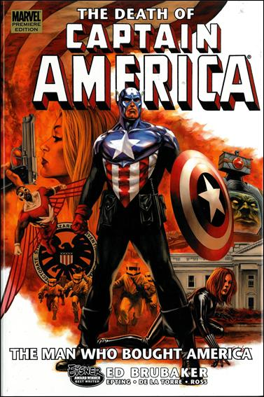 Captain America: The Death of Captain America 3-A by Marvel