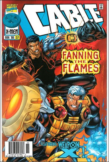 Cable (1993) 37-B by Marvel