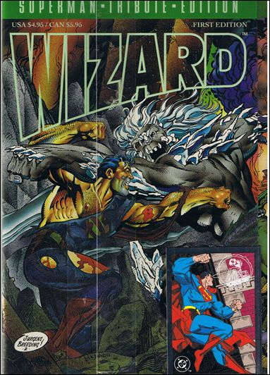 Wizard: The Superman Tribute Edition 1-A by Wizard Press