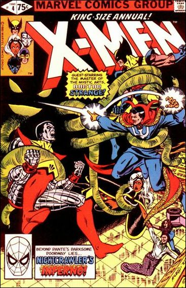 Uncanny X-Men Annual 4-A by Marvel