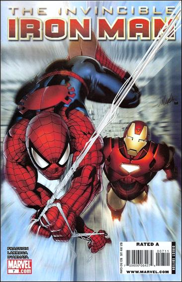 Invincible Iron Man (2008) 7-A by Marvel