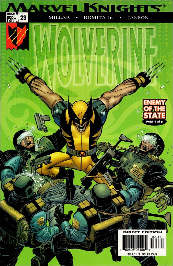 Wolverine (2003)  23-A by Marvel