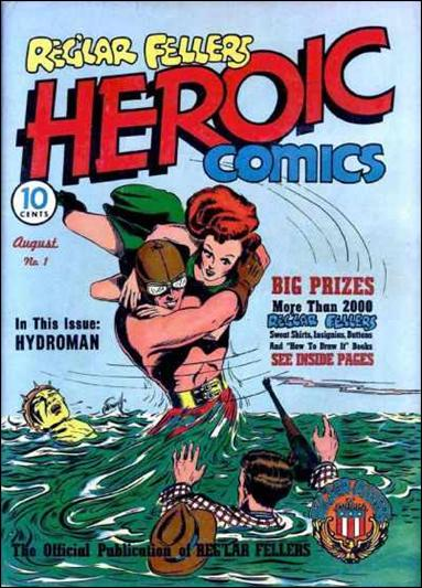 Reg'lar Fellers Heroic Comics 1-A by Eastern Color