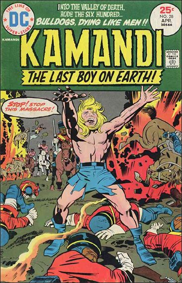 Kamandi, the Last Boy on Earth 28-A by DC