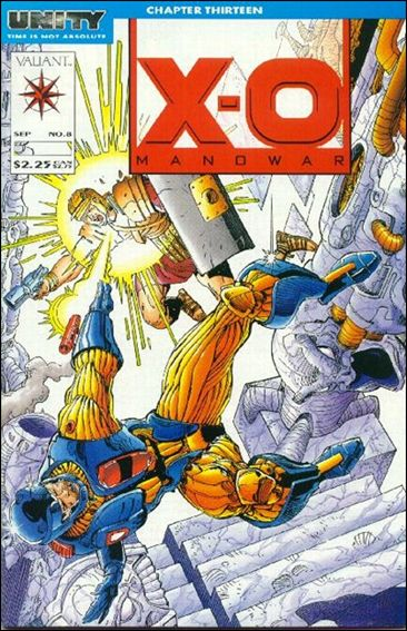 X-O Manowar (1992) 8-A by Valiant