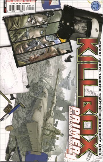 Killbox Primer 1-A by Antarctic Press