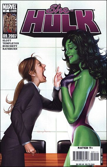 She-Hulk (2005) 21-A by Marvel