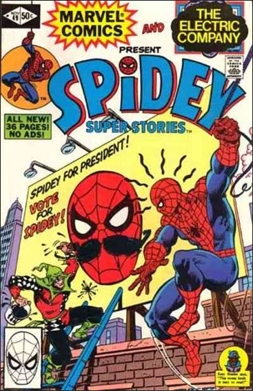 Spidey Super Stories 49-A by Marvel