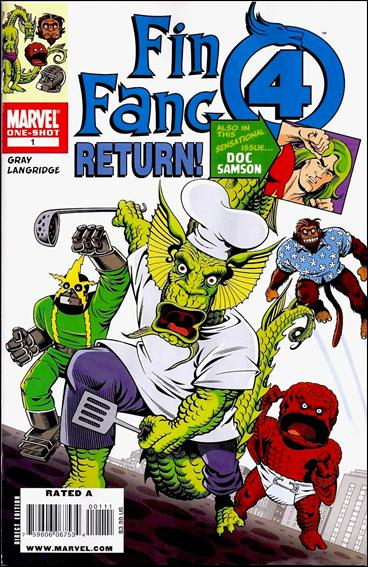 Fin Fang Four Return! 1-A by Marvel