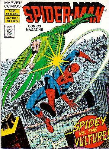 Spider-Man Comics Magazine 4-A by Marvel