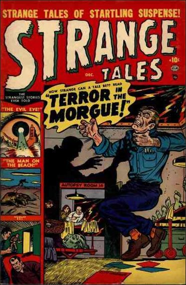 Strange Tales (1951) 4-A by Marvel