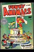 Fawcett's Funny Animals 11-A