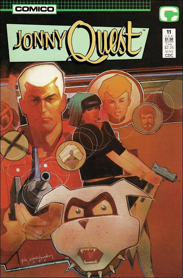 Jonny Quest (1986) 11-A by Comico