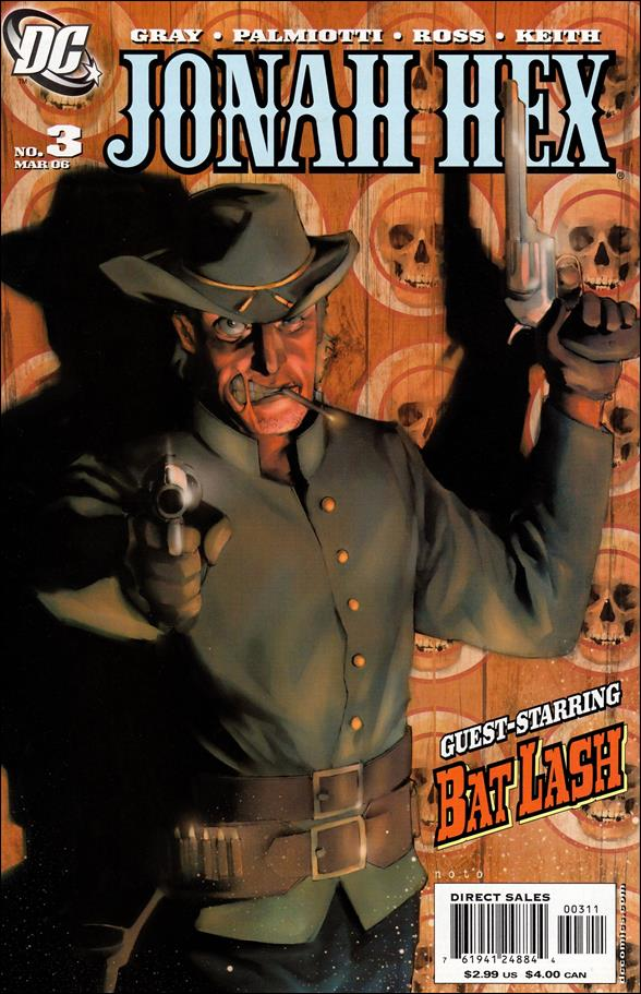 Jonah Hex (2006) 3-A by DC