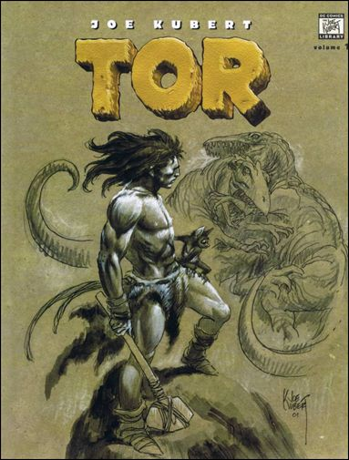 Tor by Joe Kubert 1-A by DC