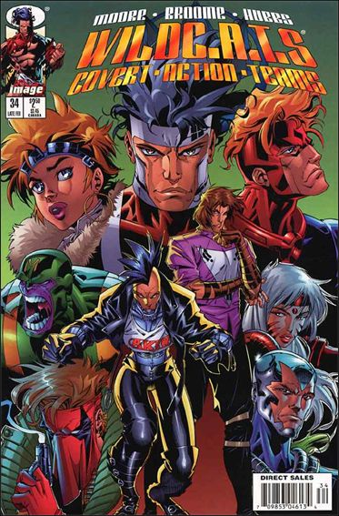 WildC.A.T.s: Covert Action Teams 34-A by Image