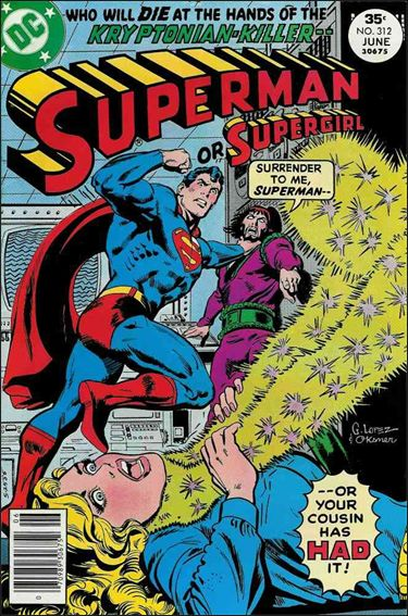 Superman (1939) 312-A by DC