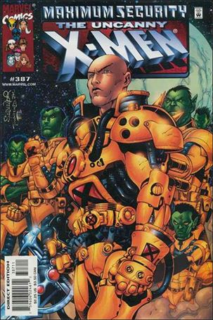 Uncanny X-Men (1981) 387-A