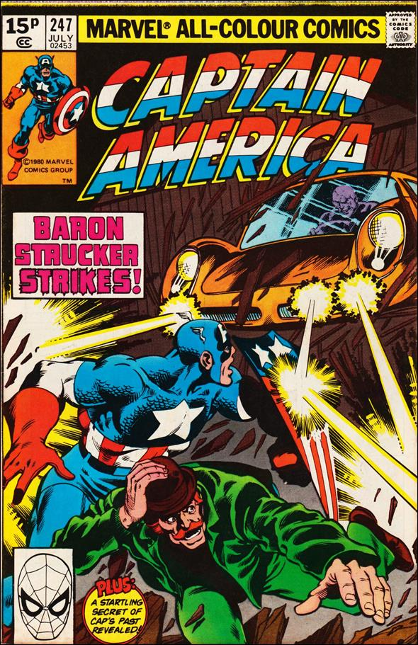 Captain America (1968) 247-B by Marvel