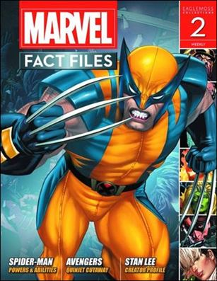 Marvel Fact Files 2-A