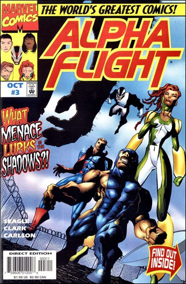 Alpha Flight (1997) 3-A by Marvel
