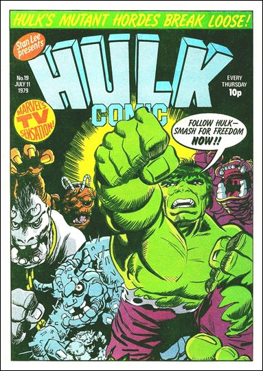 Hulk Comic (UK) 19-A by Marvel UK