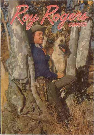Roy Rogers Comics 12-A by Dell