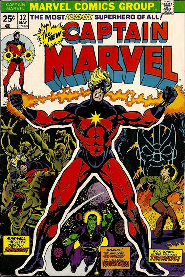 Captain Marvel (1968) 32-A by Marvel