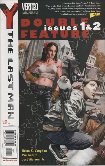 Y: The Last Man Double Feature Edition 1-A by Vertigo