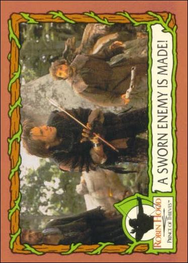 Robin Hood, Prince of Thieves (Base Set) 31-A by Topps