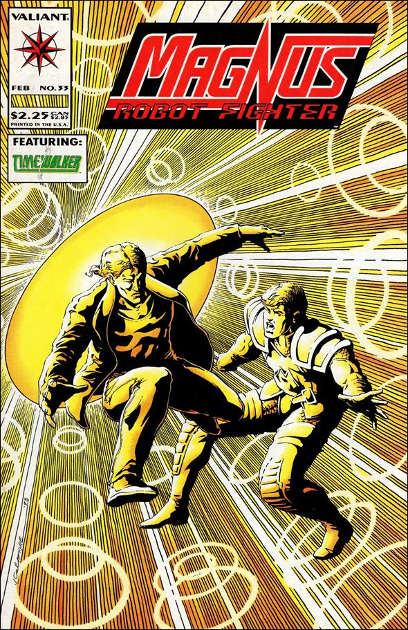 Magnus Robot Fighter (1991) 33-A by Valiant