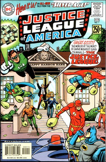 Silver Age: Justice League of America 1-A by DC
