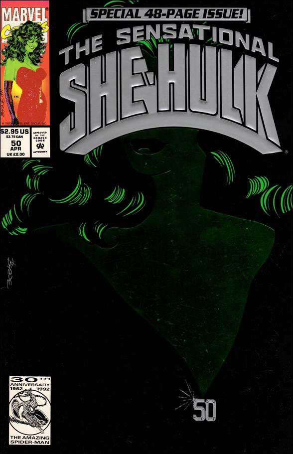 Sensational She-Hulk 50-A by Marvel