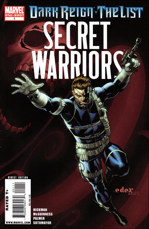 Dark Reign: The List - Secret Warriors 1-A by Marvel