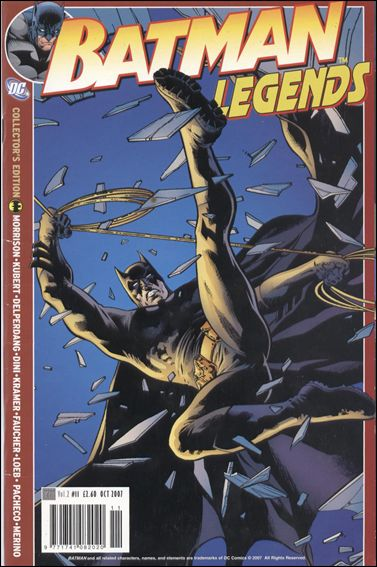 Batman Legends (UK) (2007) 11-A by Titan Magazines
