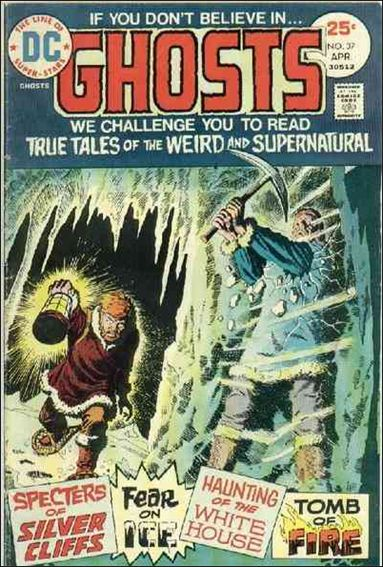 Ghosts (1971) 37-A by DC