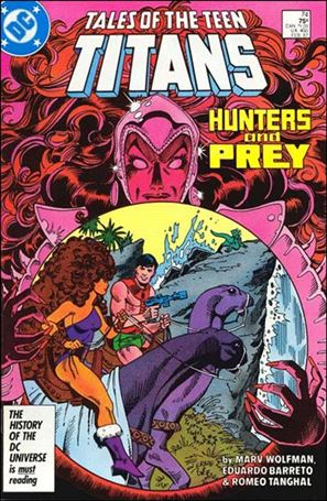 Tales of the Teen Titans 74-A