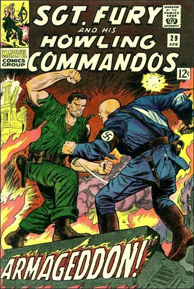 Sgt. Fury and His Howling Commandos 29-A by Marvel