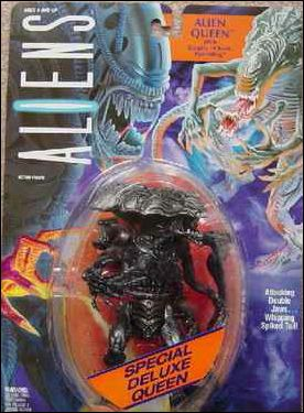Aliens Deluxe Action Figures Alien Queen (with Deadly Chest-Hatchling) by Kenner