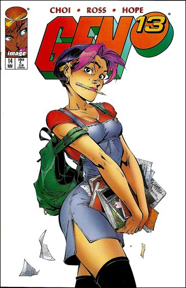 Gen13 (1995) 14-A by WildStorm