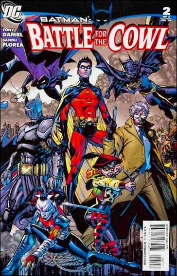 Batman: Battle for the Cowl 2-A by DC
